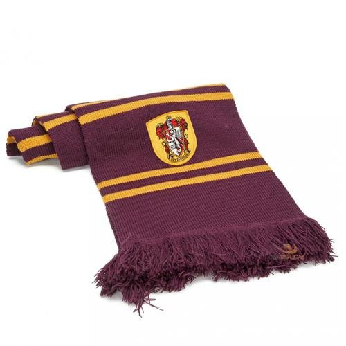 (Harry Potter Gryffindor Strickschal Merchandise & Kostümzubehör Polyacryl)