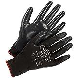 Handschuhe Präzisionshandschuhe Montagehandschuh Kori-Nit - Größe 10 - schwarz