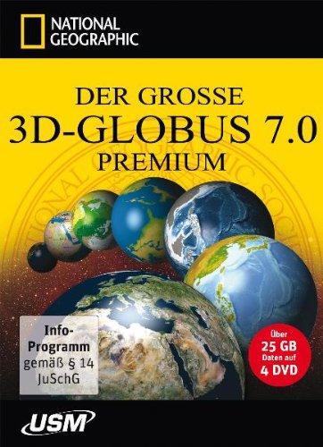 Der große National Geographic 3D-Globus 7.0 Premium