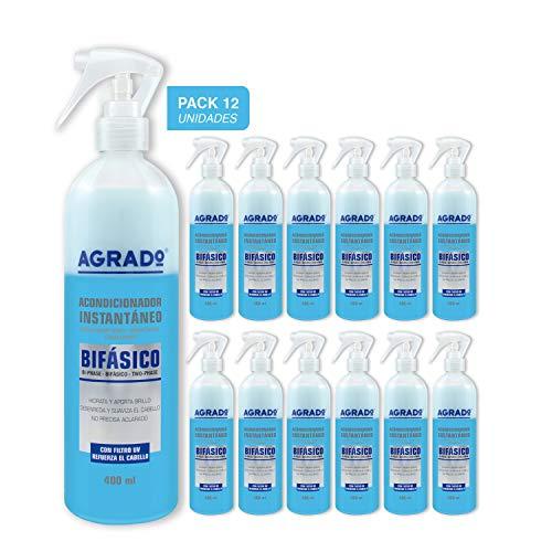 Agrado - Acondicionador bifásico 400 ml - Pack 12