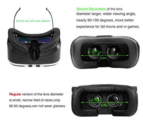 VR brille Virtuelle Realität Brille Huispark VR headset Virtuelle Realität (VR) Brille 4-6 Zoll Smartphones(VR-203)