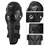 GES 4Pcs Motorcycle Knee Elbow Protector Motocross Racing Knee Shin Guard Pads Protective Gear for Adults (Black) Bild 2