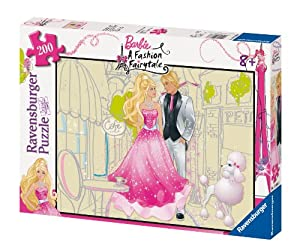 Ravensburger Spiel 12666 - Ravensburger Puzzle - 200 piezas - Barbie, 200 piezas