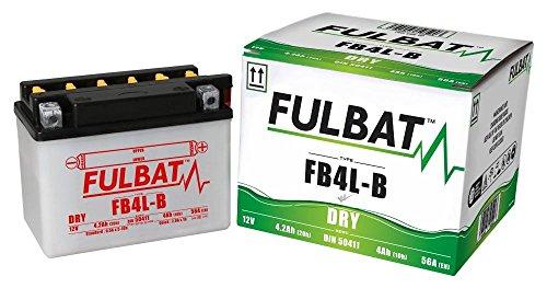 Aprilia Red Rose 50 Classic 4/5 Gang, FB4L-B, DRY Fulbat Batterie m. Säurepack -