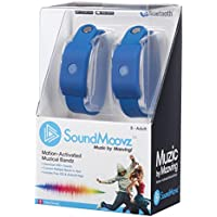 Soundmoovz Bracelets music by Moving To Create and Make Sounds and Music