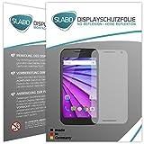 2 x Slabo Displayfolie für Motorola Moto G (3. Generation) Displayschutzfolie Zubehör