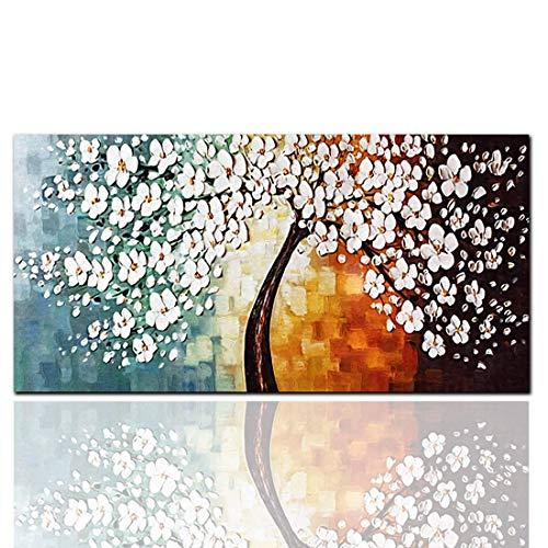 HYCy HD Inkjet Reiche Baum Malerei Leinwand Einzel Rahmenlose Dekorative Ouml;lgemauml;lde Ouml;lgemauml;lde auf Leinwand Gedruckt Wandkunst fuuml;r Wanddekoration - Inkjet-speicher