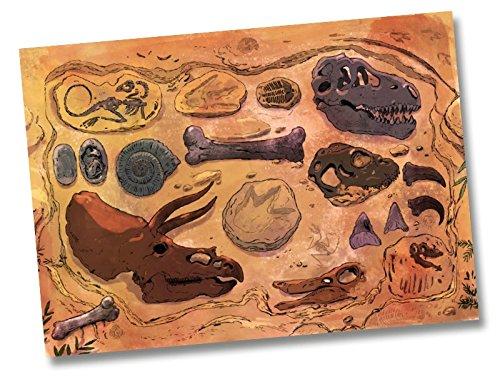 Preisvergleich Produktbild 6 Platzsets * DINOSAURIER * für Kindergeburtstag von DH-Konzept // DINOP012 // Platzset Tischset Unterlage Malvorlage Kinder Geburtstag Party T-Rex Triceratops Saurier Jura