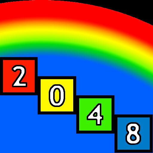 Regenbogen 2048 Pro