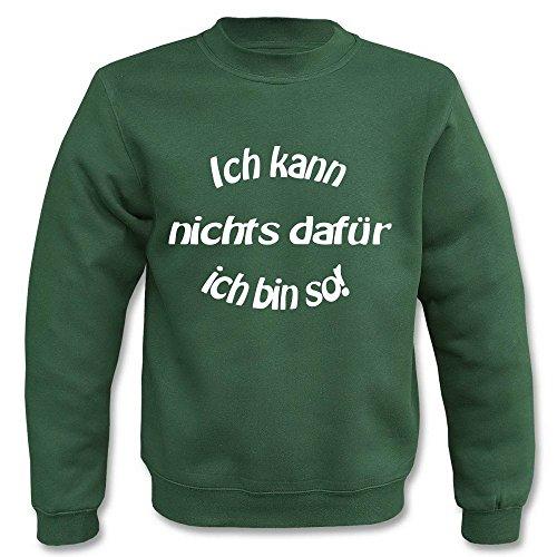 Pullover - Ich kann nichts dafür Grün