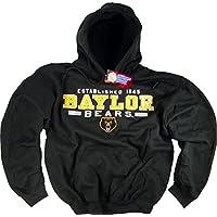 Baylor Bears Felpa con cappuccio maglietta con bandiera cappello in vinile University Clothing