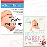 What to Expect When You're Expecting and First-Time Parent 2 Books Bundle Collection With Gift Journal - The honest guide to coping brilliantly and staying sane in your baby's first year