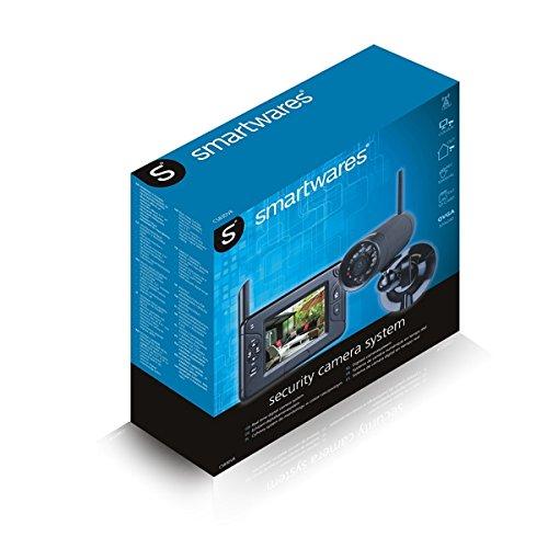 smartwares funk kamerasystem mit aufzeichnungsfunktion. Black Bedroom Furniture Sets. Home Design Ideas