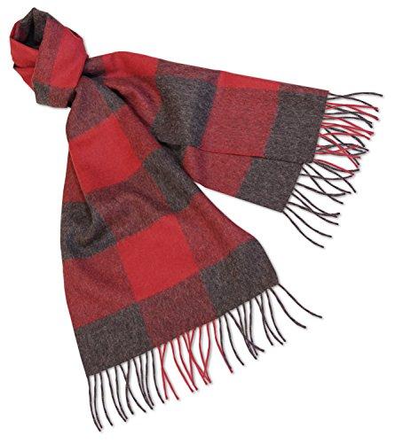 alpacafab-100-baby-alpaca-scarf-midol-checkered-unisex-71-x-12-in-red