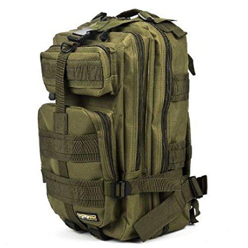 Outdoor Sport Tarnung Rucksack Militär Klettern Wandern Tasche 3P Taktisch Rucksack Armygreen