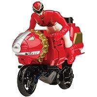 Power Rangers Megaforce Sky Lion Ranger Rojo Ciclo (UK Import)