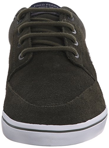 Fred Perry Stratford Hommes Trainers Forest Night
