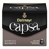 Dallmayr Capsa Espresso Ristretto, Nespresso Kapsel, Kaffeekapsel, Espressokapsel, Röstkaffee, Kaffee, 50 Kapseln