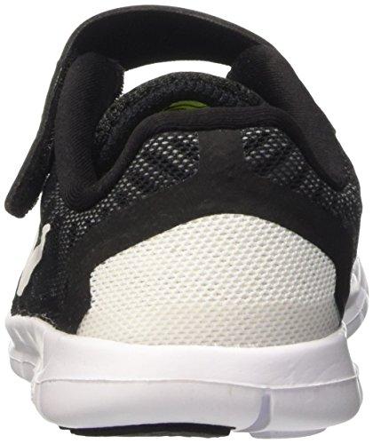 Nike Free 5 (Psv), Scarpe da Corsa Bambini e Ragazzi Multicolore (Black/White-Dark Grey-Cl Grey)