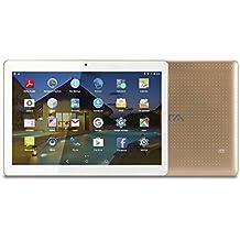 BEISTA Tablet de 10.1 Pulgadas (2GB RAM,16GB ROM,WiFi,Quad-Core,Android 5.1 Lollipop,HD IPS 800x1280,Doble Cámara,Doble Sim,OTG,GPS)- Color Oro