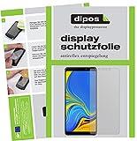 dipos I 2X Schutzfolie matt passend für Samsung Galaxy A9 (2018) Folie Bildschirmschutzfolie
