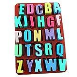 26 englische Buchstaben Schokoladen formen