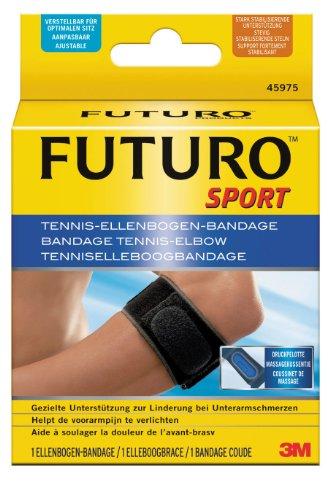 futuro bandagen FUTURO FUT45975 Sport Ellenbogen-Bandage, beidseitig tragbar, Einheitsgröße