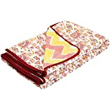 Cloth Fusion Fiesta Reversible Cotton Single Bed Dohar/Blanket/AC Comforter
