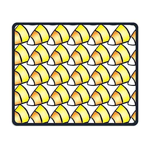 Halloween Patterns Candy Corn Office Rectangle Non-Slip Rubber Mouse Pad Comfortable Gaming Mouse Pad for Laptop Displays Tablet Keyboard (Halloween Bug Candy)