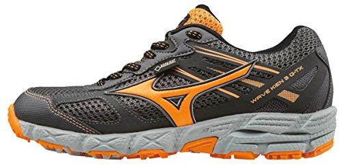 Mizuno Women Wave Kien 3 G-Tx (W) Trail Running Shoes, Grey (Dark...