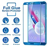 [Sponsored]Systek Honor 9 Lite Tempered Glass 5D Edge To Edge Full Glue Full Screen Protector 9H Hardness [No Rainbow, No Dot Matrix Anti-Scratch, Shatterproof, Full HD 5D Glass Guard For Honor 9 Lite] [LIMITED PERIOD OFFER] (Blue)