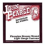 John Pearse 2060L Jeu de cordes pour mandoline light Naturel