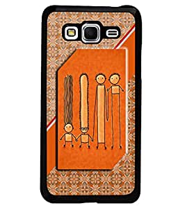Printvisa 2D Printed Cartoon Designer back case cover for Samsung Galaxy Grand Prime SM - G530H - D4576