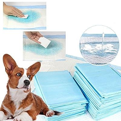 Espesamiento Pañales de Mascotas Almohadillas de Almohadilla de Entrenamiento para inodoros Interiores para Mascotas Alfombra Absorbente para Cachorros por Waniba