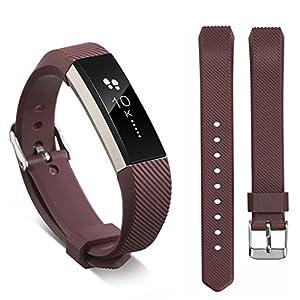 Für Fitbit Alta/Alta HR Sportarmband,Colorful Silikon Uhrenarmband Replacement Wechselarmband Sport Ersatzarmband für Fitbit Alta/Alta HR