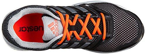 Adidas Questar Boost M M29803 Herren Laufschuhe / Runningschuhe / Trainingsschuhe Schwarz Schwarz-Rot-Grau-Silber