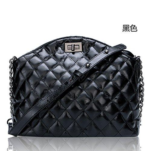 Mefly Echtes Leder Trend black