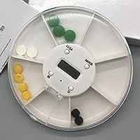 Rund 7Tag Fach Reisen Pillendose Container Klar Medizin Vitamine Rotation Spender Halter Organizer Storage Fall... preisvergleich bei billige-tabletten.eu
