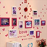 L&Y Photo Wall Ornament Photo Frame Wall Minimalistic Modern Frame Portafoto creativo a parete Cornice per foto ( Colore : C )