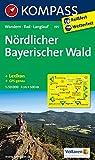 Nördlicher Bayerischer Wald: Wanderkarte mit Kurzführer Radwegen und Loipen. GPS-genau. 1:50000 (KOMPASS-Wanderkarten, Band 195)