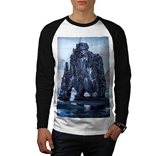 natural-nature-art-earth-wonder-men-new-white-black-sleeves-s-baseball-ls-t-shirt-wellcoda