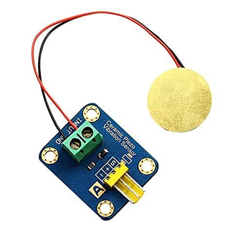 alsrobotbase Piezo en céramique Capteur de vibrations