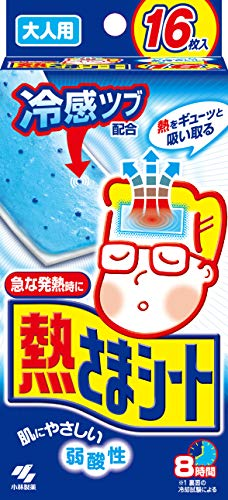 Pad Kostüm Party - Kobayashi Cooling Gel Sheet 12sheet + 4 by Kobayashi Pharmaceutical
