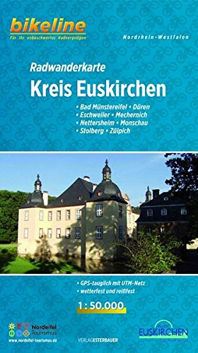 Euskirchen District Cycling Tour Map 2018 por Bikeline