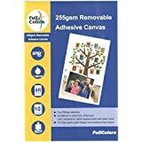 Full Colors 255 GSM Multiple Time Removable Adhesive Canvas 4R Mobile Sticker Paper ***Introduced in India***