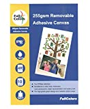 #7: Full Colors 255 GSM Multiple Time Removable Adhesive Canvas 4R Mobile Sticker Paper ***Introduced in India***