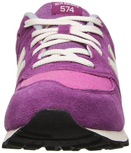 New Balance Classic Traditional Purple Youths Trainers - KL574E4G Violet