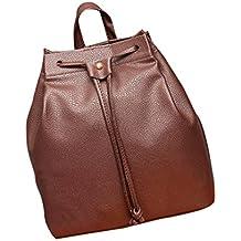 29f0e8c66 Mochila, Manadlian Bolsa de cubo de mujer Mochila Cordón de la moda Bolsa  de viaje