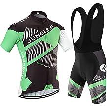 (Cojín 3D)(traje(tirante negro) tamaño:XXL) maillot manga hombres transpirable rendimiento sudo rompevientos ropa 2016 los ciclismo corta Moda Jerseys de jerseys chaleco
