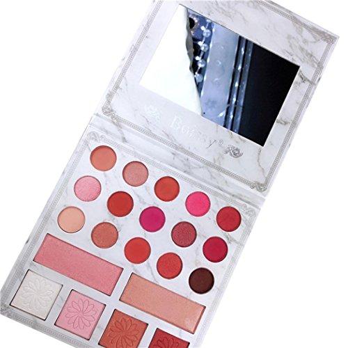 Fards à paupières,Cosmétique Matte ombre à paupières crème 21 couleurs chatoyantes Matte Eye Shadow Set fard à paupières palette Pro cosmétiques maquillage outils par LHWY